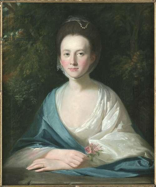 Portrait of Mrs Margaret Hippisley, c.1769 (oil on canvas)