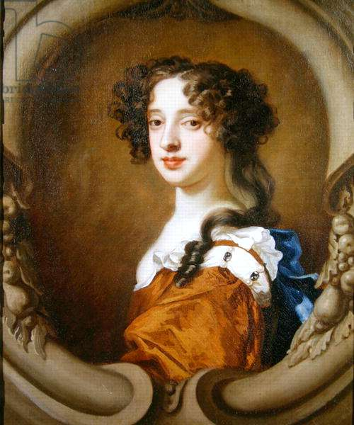 Portrait of Elizabeth Wriothesley (c.1646-90) Countess of Northumberland and Montagu, c.1673 (oil on canvas)