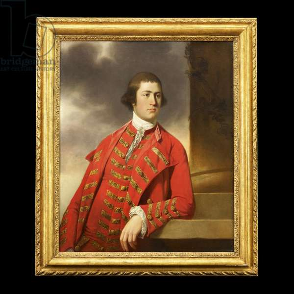Portrait of a gentleman traditionally identified as Captain Bryce, c.1765 (oil on canvas)