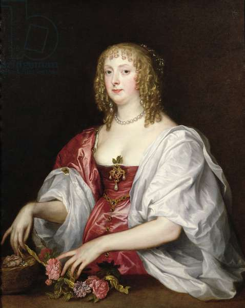 Portrait of Catherine Murray, Countess of Dysart (oil on canvas)