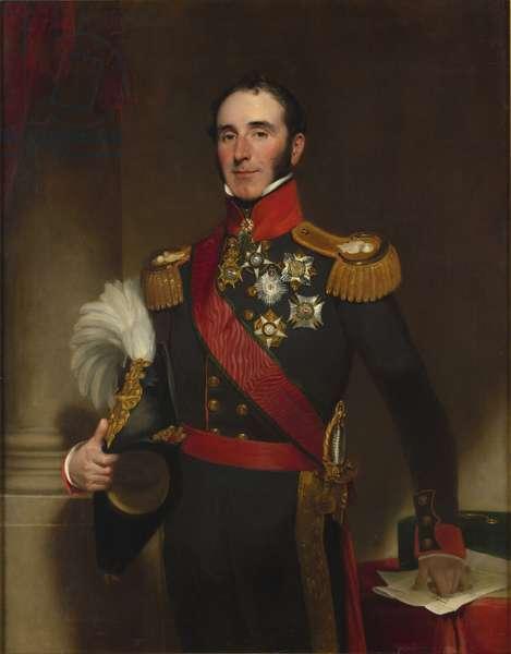 Portrait of Sir John Conroy (oil on canvas)