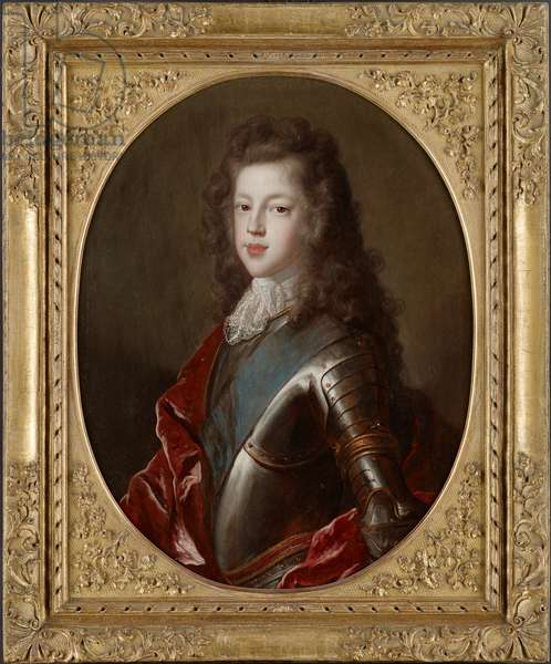 Portrait of James Francis Edward Stuart, The Old Pretender (oil on canvas)