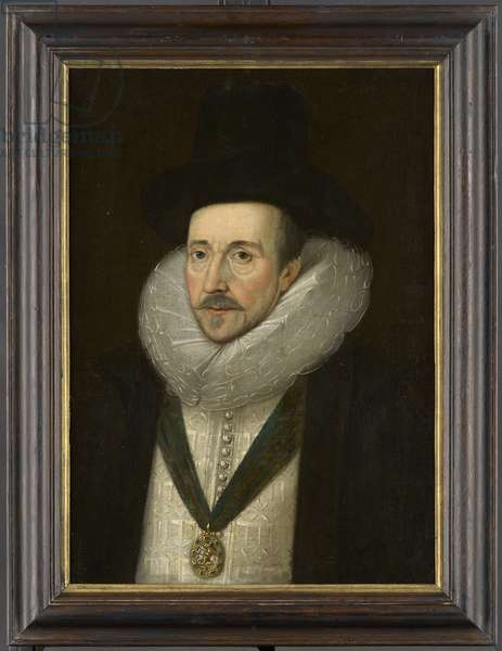 Portrait of Henry Howard, Earl of Northampton (1540-1614), early 17th Century (oil on canvas)