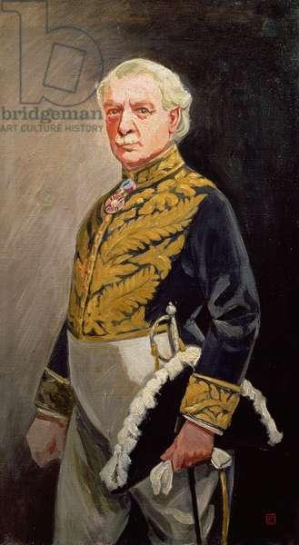 Portrait of David Lloyd George (oil on canvas)