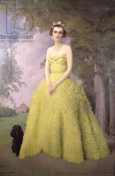 Portrait of Margaret, Duchess of Argyll (1912-93), 1955 (oil on canvas)