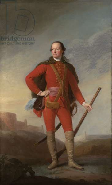 Portrait of Charles, 5th Earl of Elgin, c.1754 (oil on canvas)