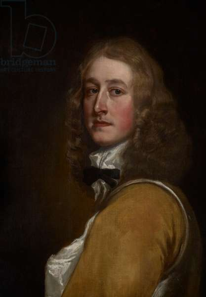 Portrait of a Gentleman, 1650s (oil on canvas)