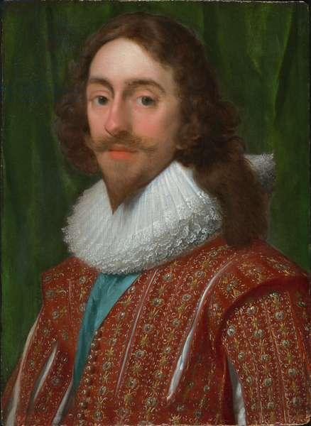 Portrait of Charles I (oil on panel)