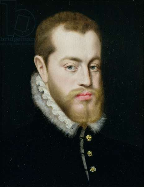 Portrait of Philip II of Spain (1527-1598)
