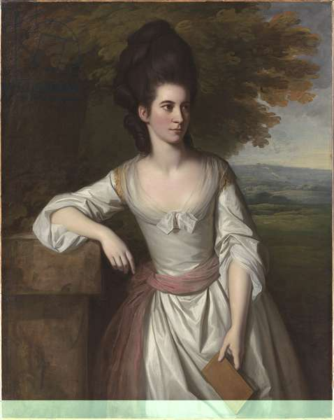 Portrait of Mrs Vere, c.1777 (oil on canvas)