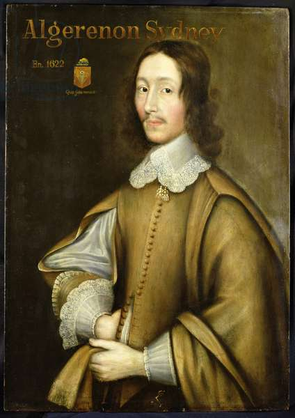 Portrait of Algernon Sydney (c.1622-83)
