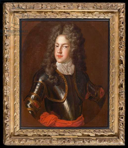 Portrait of Prince James Francis Edward Stuart, the 'Old Pretender', c.1712  (oil on canvas)