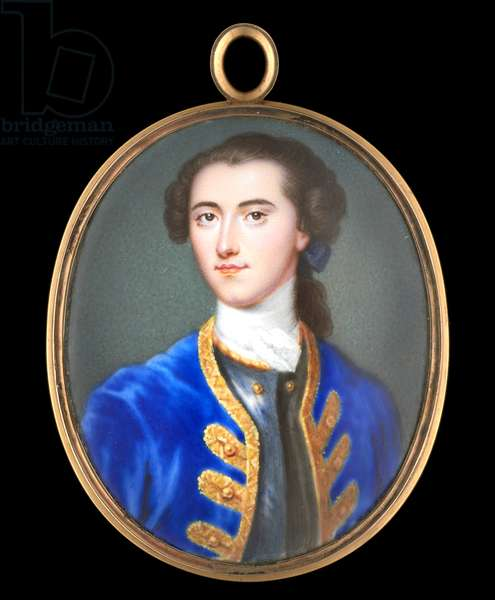Portrait enamel of the Hon. Henry Seymour Conway (enamel on metal)