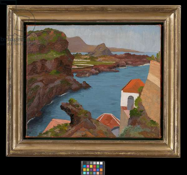 San Marcos, Tenerife, 1955 (oil on canvas)
