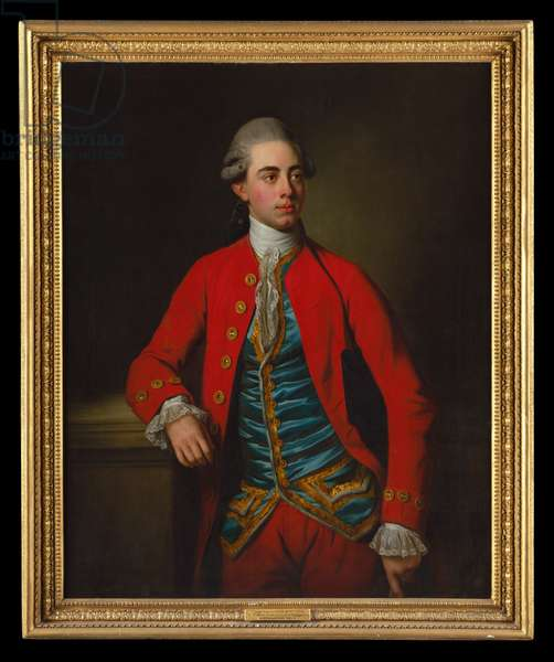 Portrait of George Augustus North, 3rd Earl of Guilford, 9th Baron North (oil on canvas)