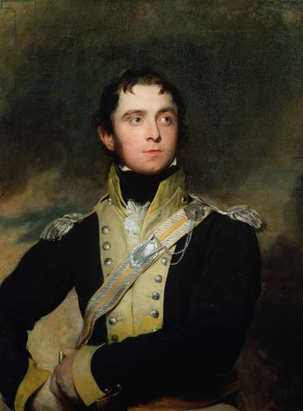 Portrait of an Officer of the 11th Light Dragoons, 1812 (oil on canvas)
