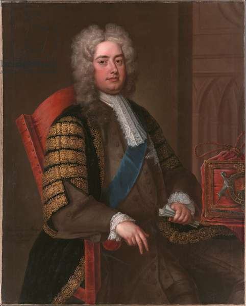 Portrait of Sir Robert Walpole KG, c.1730 (oil on canvas)