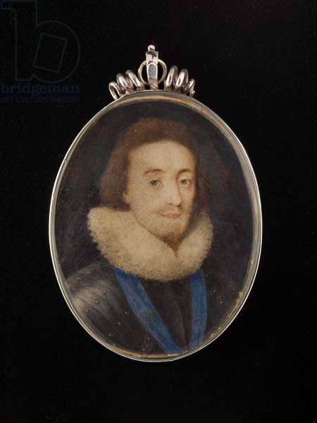 A portrait miniature of Charles I as Prince of Wales, c.1624 (w/c on vellum)