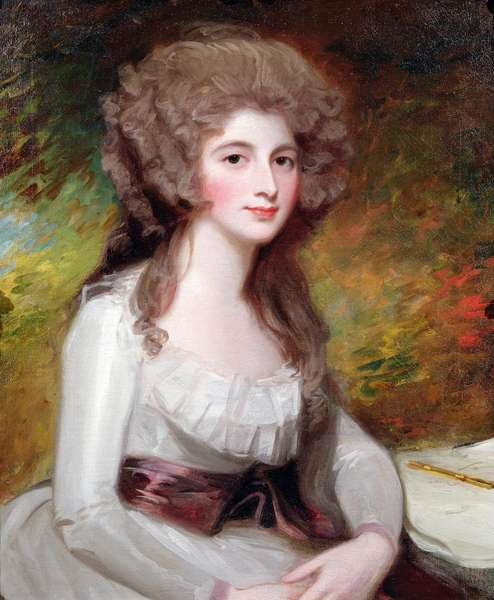 Portrait of the Hon Mrs Richard Tickell, nee Ley (1756-87) (oil on canvas)