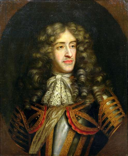 Portrait of James, Duke of York (1633-1701) as Lord High Admiral, c.1675