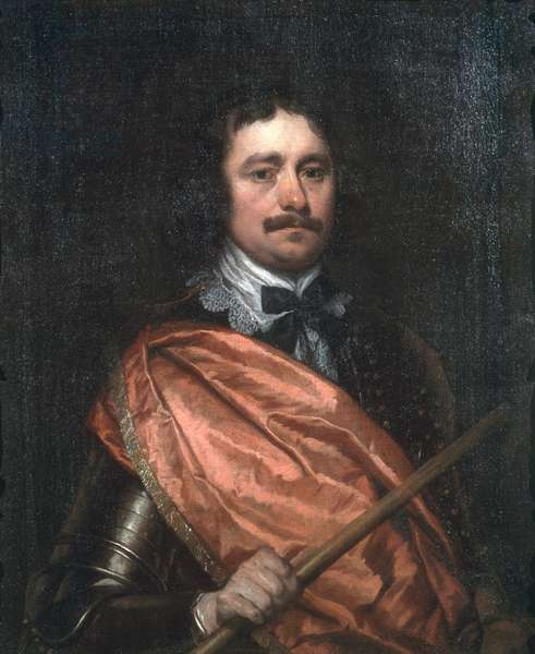 Portrait of a Royalist Commander, c.1645 (oil on canvas)