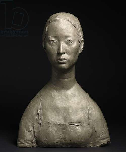 Portrait of Mo Wei, 2010 (bronze)