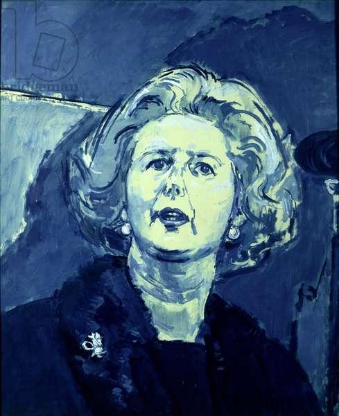 True Blue, portrait of Margaret Thatcher