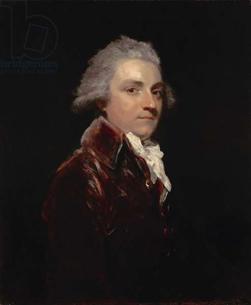 Portrait of Wilson Gale-Braddyll of Conishead Priory, Lancashire (oil on canvas)