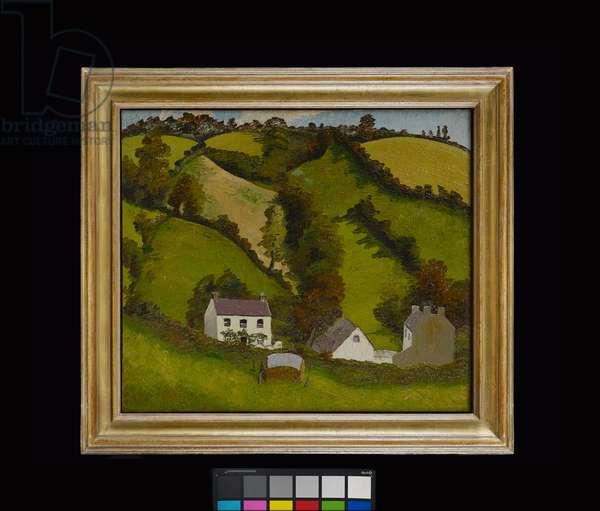 South Pembrokeshire Landscape, 1934 (oil on canvas)