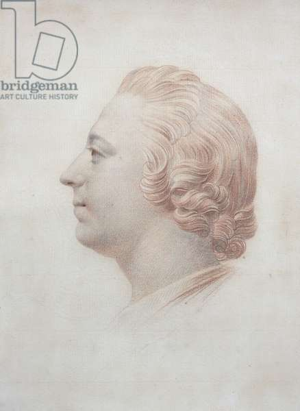 Portrait of Prince Charles Edward Stuart (1720-88), The Young Pretender, c.1745-50 (black & red chalk on paper)