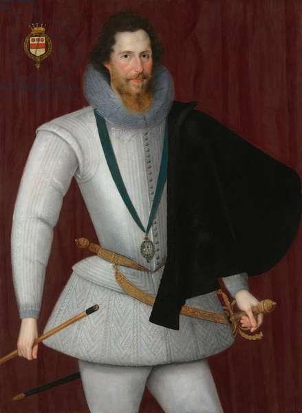 Portrait of Robert Devereux, 2nd Earl of Essex (oil on panel)