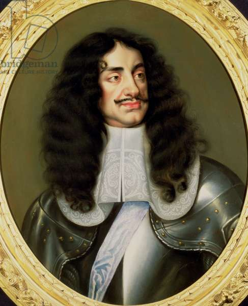 Portrait of Charles II (1630-85)