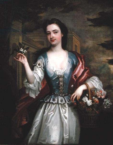 Portrait of Catherine Shorter, Lady Walpole (1682-1737) 1725 (oil on canvas)