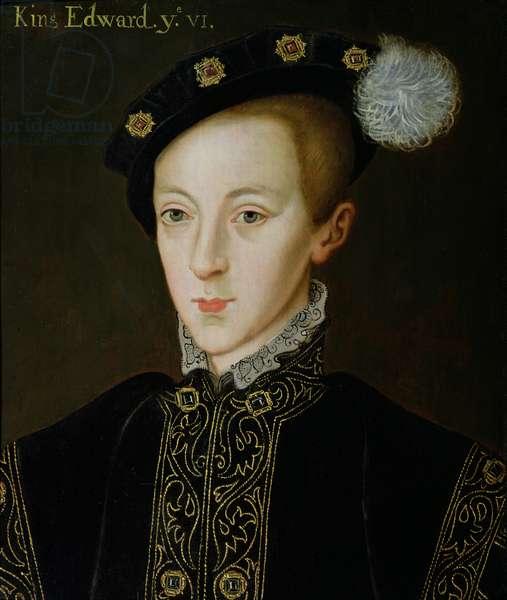 Portrait of Edward VI (1537-53), c.1590 (oil on panel)