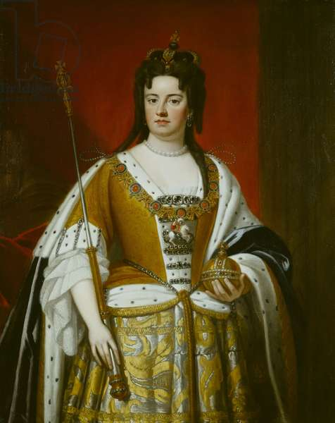 Portrait of Queen Anne, c.1705 (oil on canvas)