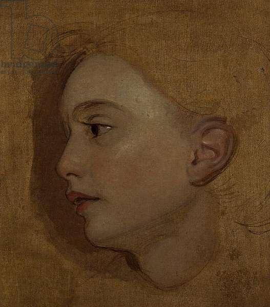 Portrait study of a Girl