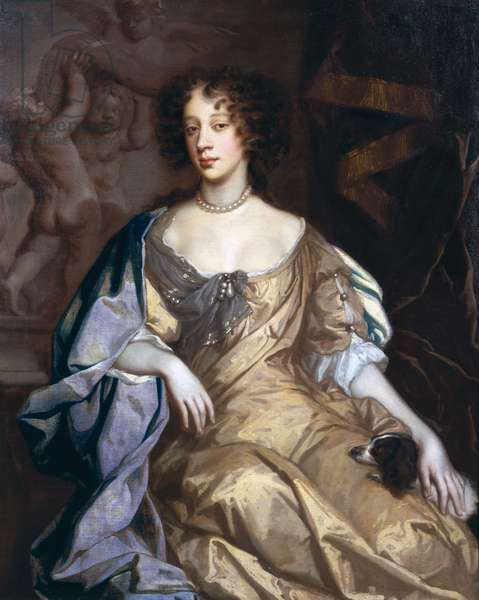 Portrait of Queen Mary of Modena (1658-1718) 1674/5 (oil on canvas)