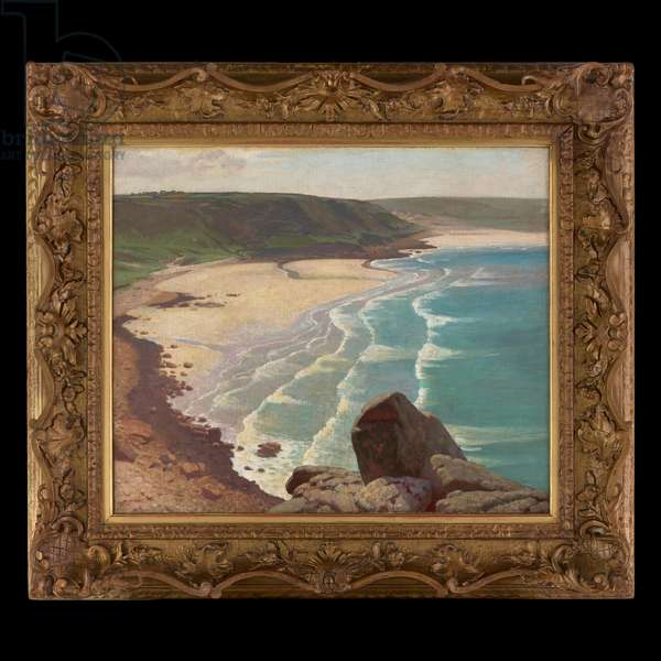 Whitsand Bay, Cornwall, n.d. (oil on canvas)