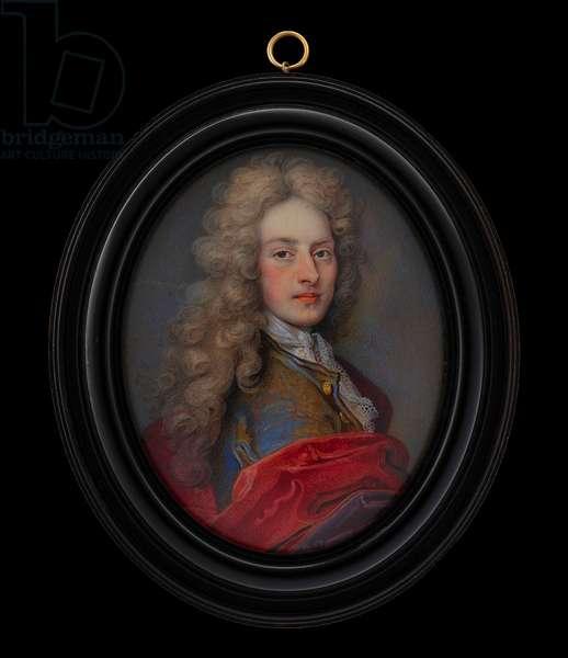 A Nobleman, 1706 (w/c on vellum)