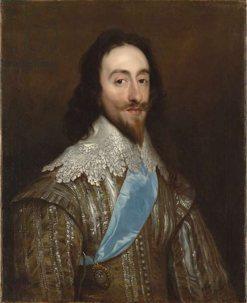 Portrait of Charles I, c.1632 (oil on canvas)