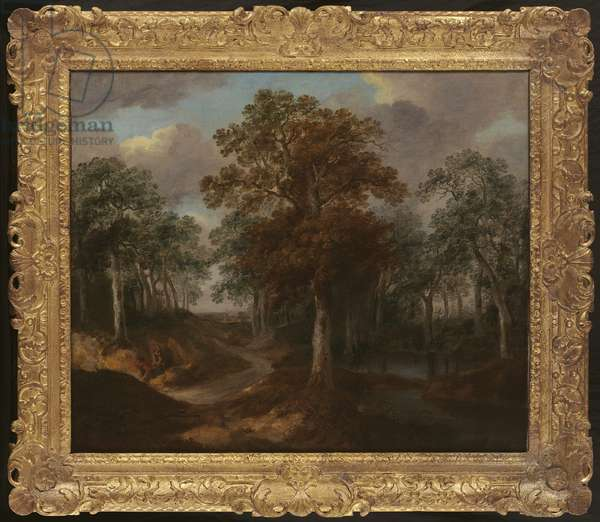 Cornard Wood (oil on canvas)