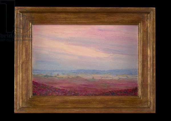 Landscape, 1908 (w/c on paper)