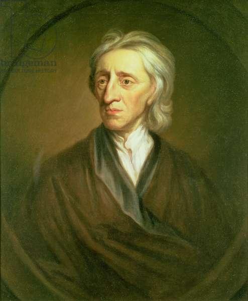 Portrait of John Locke (1632-1704) (see also 1419)