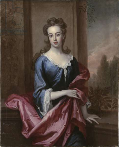 Portrait of Mary Calverley, Lady Sherard, c.1696 (oil on canvas)
