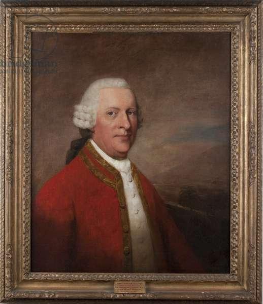 Sir James Sinclair-Lockhart, 15th Baron of Cambusnethan (oil on canvas)