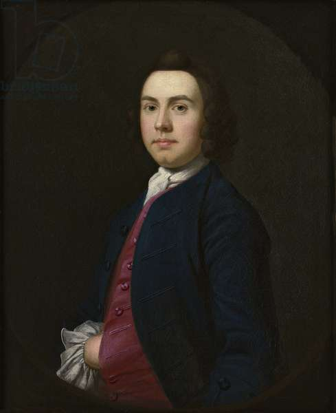 Portrait of a Gentleman, late 1740s (oil on canvas)