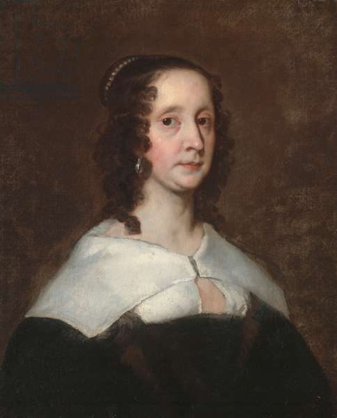 Portrait of a Lady, early 1640s (oil on canvas)