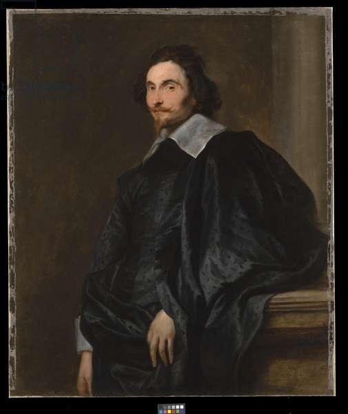 Portrait of a Gentleman, c.1630s (oil on canvas)