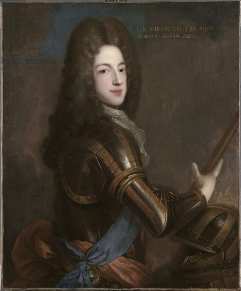 Portrait of Prince James Francis Edward Stuart (oil on canvas)