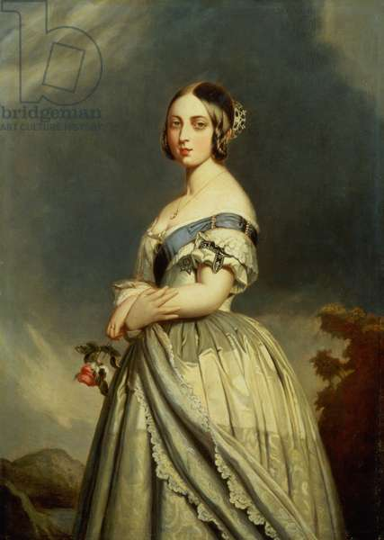 The Young Queen Victoria (1819-1901) (panel)
